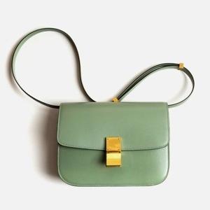 Groene schoudertassen