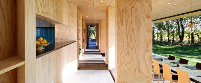 plywood inside interieur