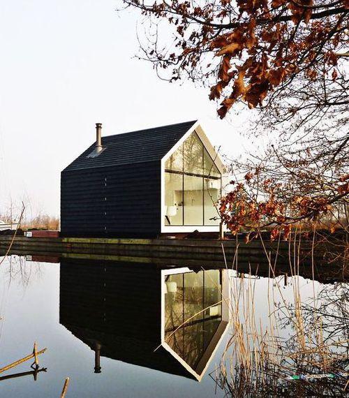 droomhuis aan het water